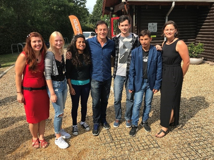 Jason Isaacs and Lumos Youth Advocates