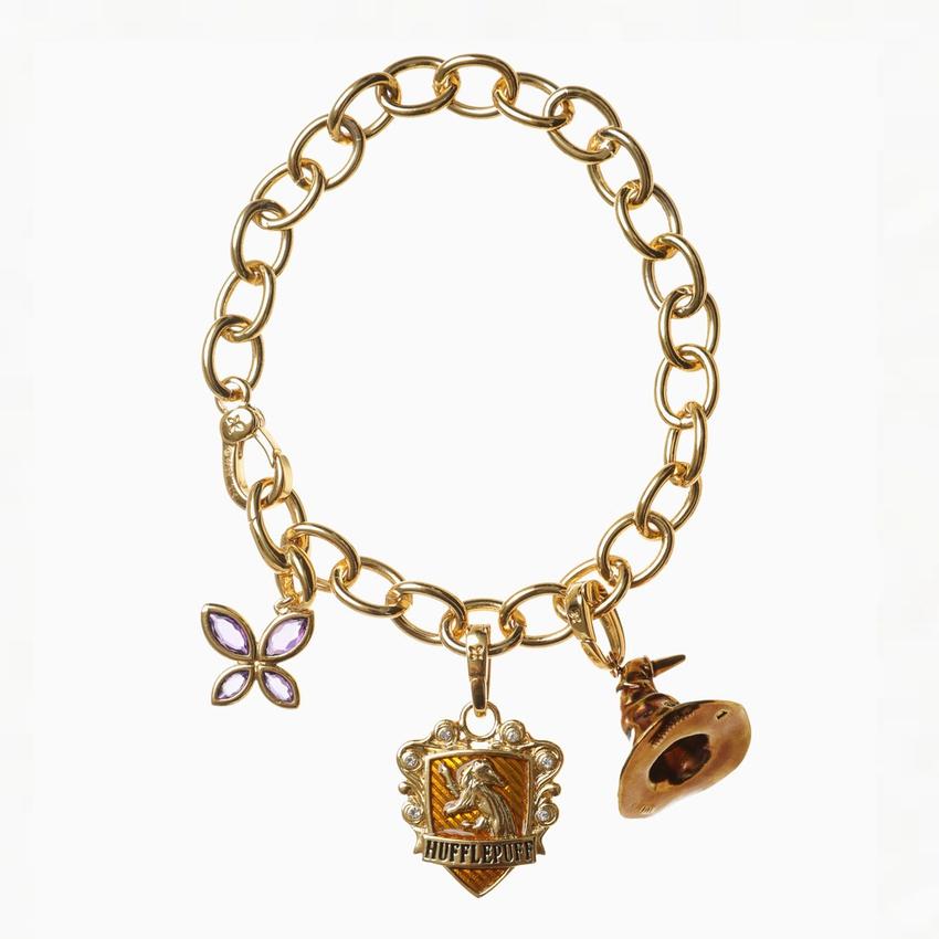 Harry Potter Gold charm bracelet