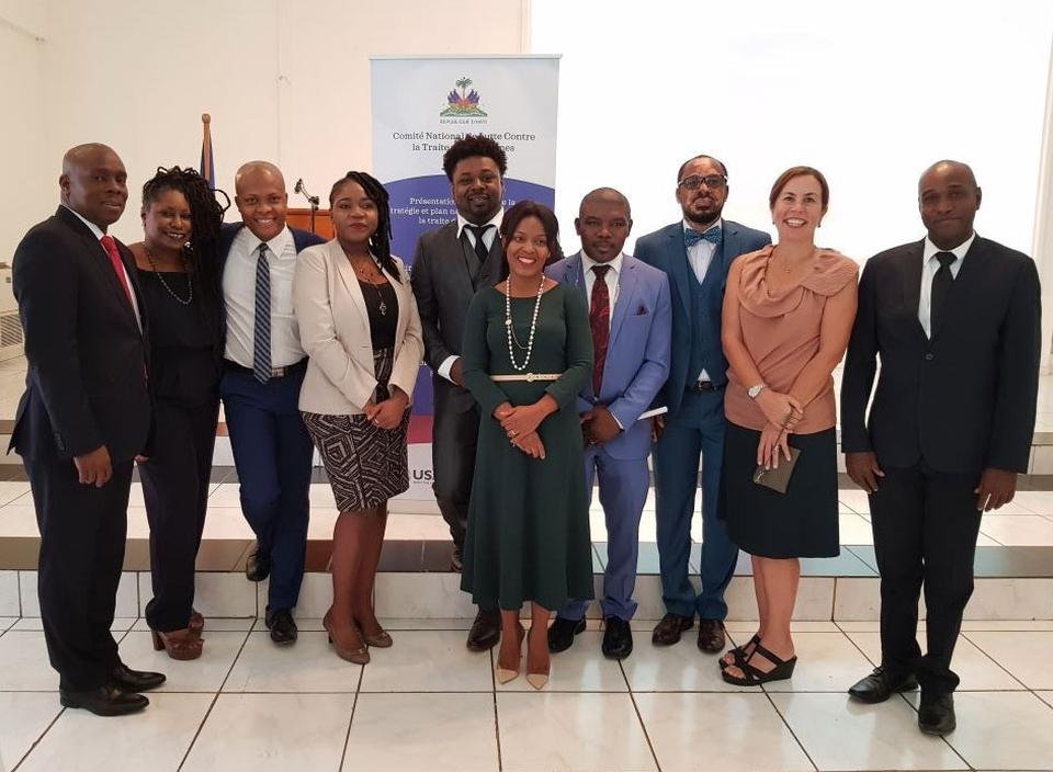 Representatives from Lumos and partners in Haiti